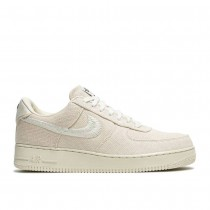 """Fossiler Stein, fossiler Stein Nike Air Force 1 Low """"Stussy - Fossil"""" Unisex Schuhe CZ9084-200"""